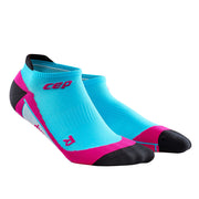 CEP compression cute womens socks - no show - hawaii blue