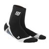 CEP Mens Short Compression Socks - Black