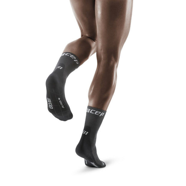 Trail Merino Mid Cut Compression Socks, Men