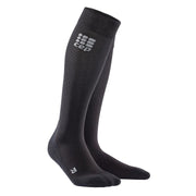 Merino Tall Compression Socks for Recovery, Men