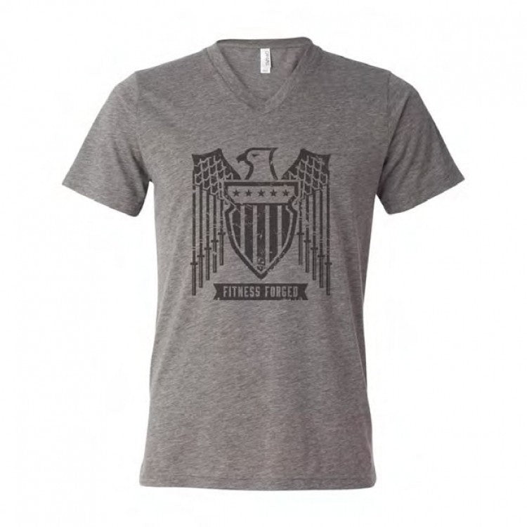 Men's Fitness Forged V-Neck Tee
