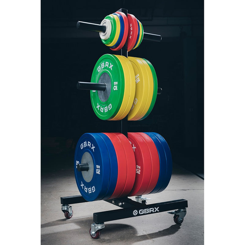 GBRX Tree Bumper Plate Storage