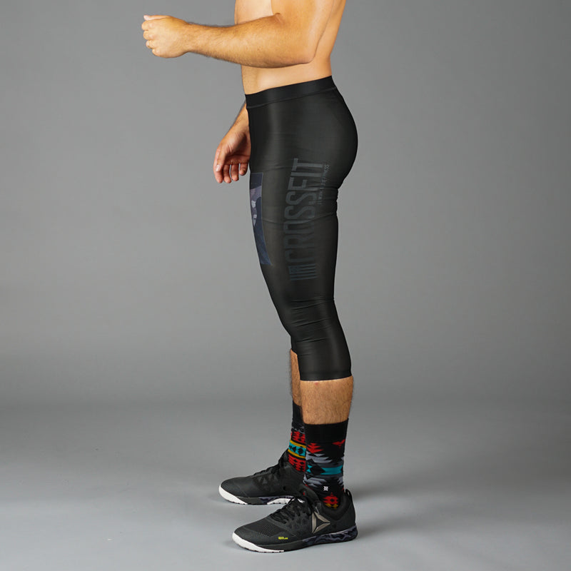 GBRX CrossFit® Men's CrossFit PWR6 Compression 3/4 Legging
