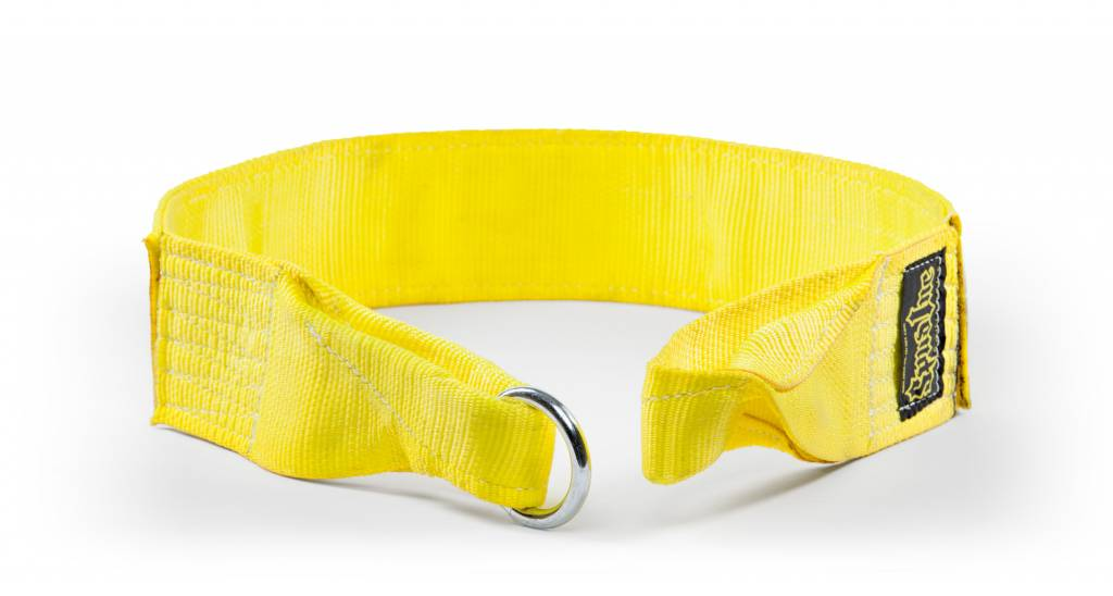 Sled Pulling Belt Yellow
