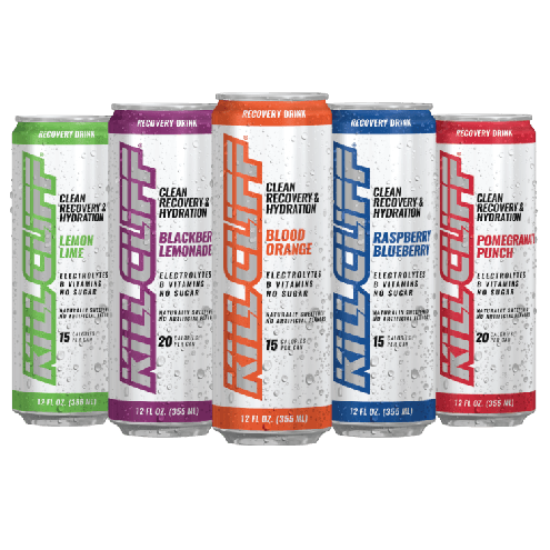Kill Cliff Recovery Drinks