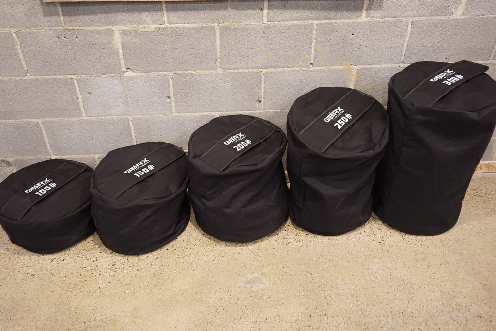 GBRX Strongman Bags