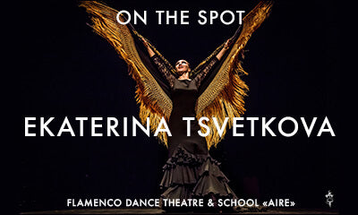 Flamenco on the spot: Ekaterina Tsvetkova