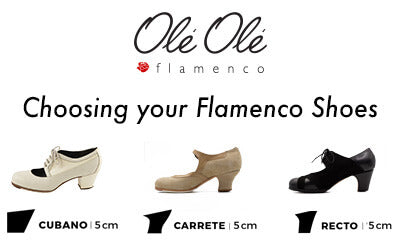 Choosing your Flamenco Shoes