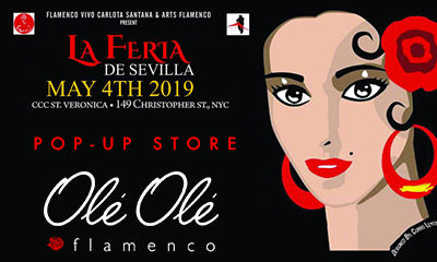 Ole Ole Flamenco Pop-up Store at LA FERIA DE SEVILLA IN NYC