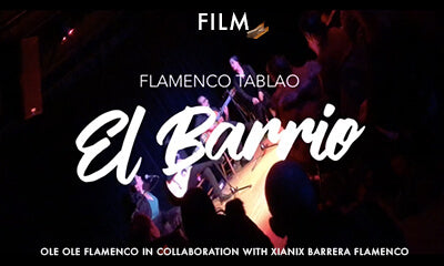 Flamenco Tablao El Barrio New York film by Ole Ole Flamenco in collaboration with Xianix Barrera Flamenco