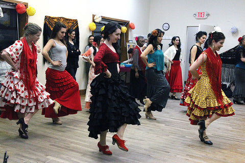Flamenco vivo classes
