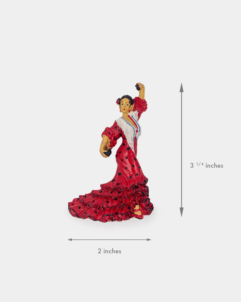 Flamenco Dancer with Castanets Magnet