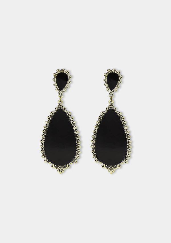 Flamenco Earrings Granada black