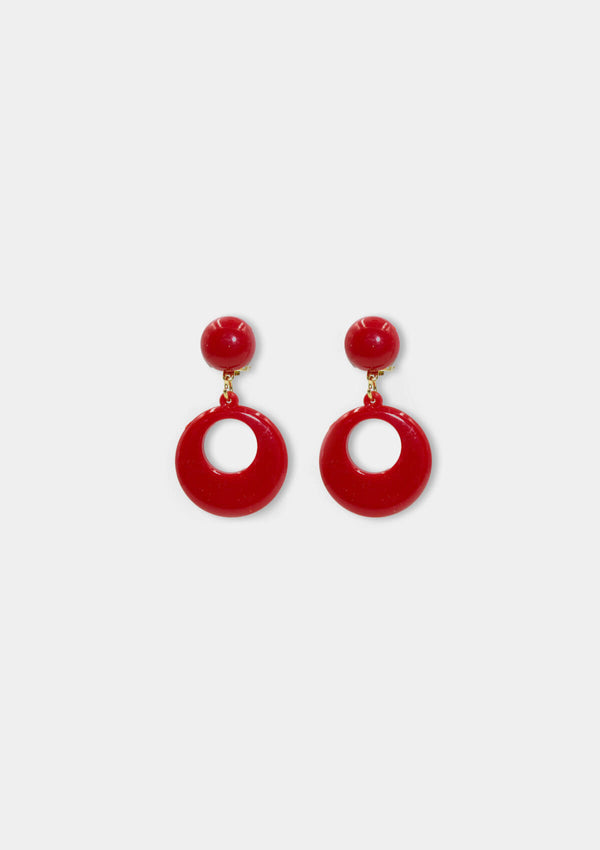 Flamenco clip earring
