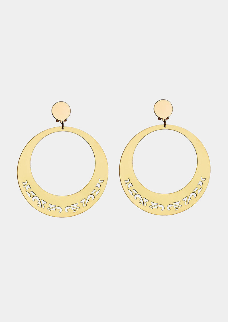 Flamenco earring gold II