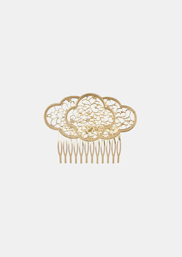 Spanish Comb Gold Metal Solea