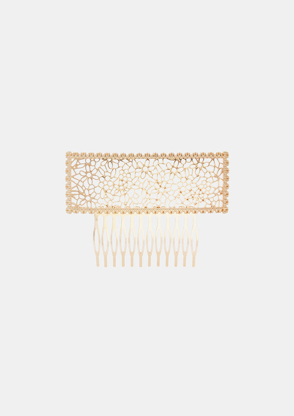 Spanish Comb Gold Metal