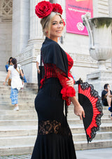 Flamenco skirt adult