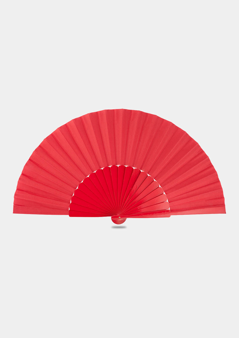 Red Pericon Spanish Hand Fan