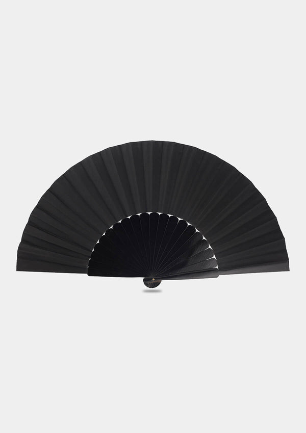 Pericon hand fan black