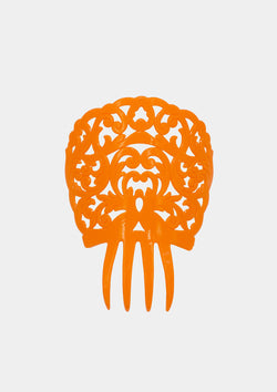 Flamenco comb Orange