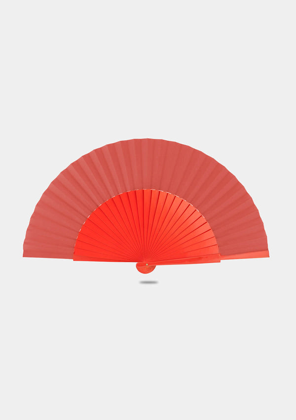 Semi Pericon Orange hand fan
