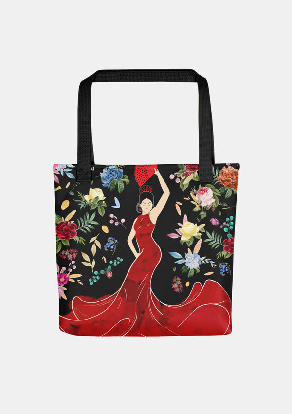 Flamenco Tote bag Sevillana dancer