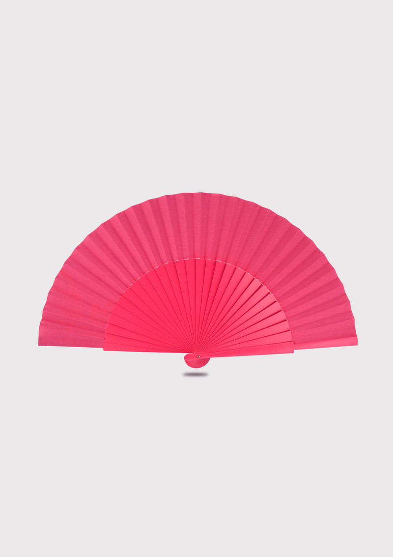 Pink Hand fan Semi Pericon