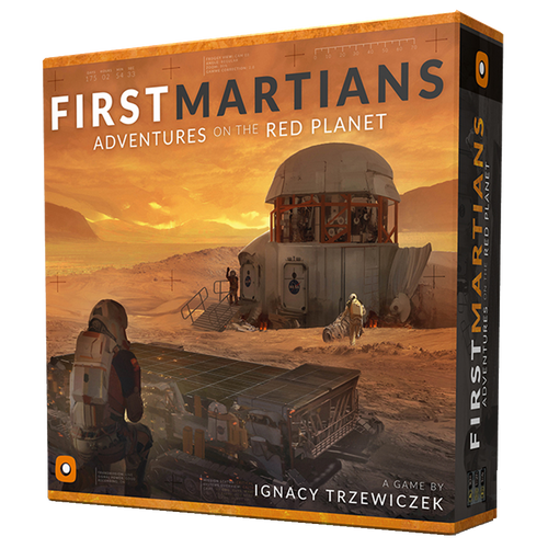First Martians - Adventures on the red planet