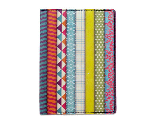 Washi Tape Passport Wallet