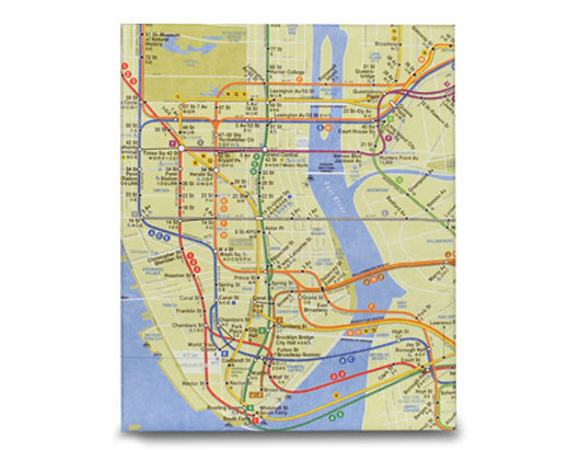 NYC Subway Map Tablet Case