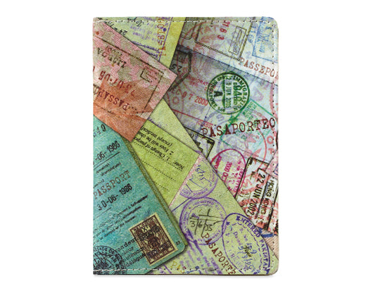 Stamp Passport Cover