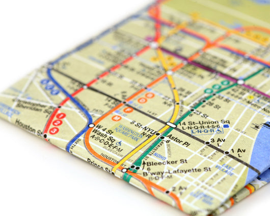 Subway Map Mighty Wallet