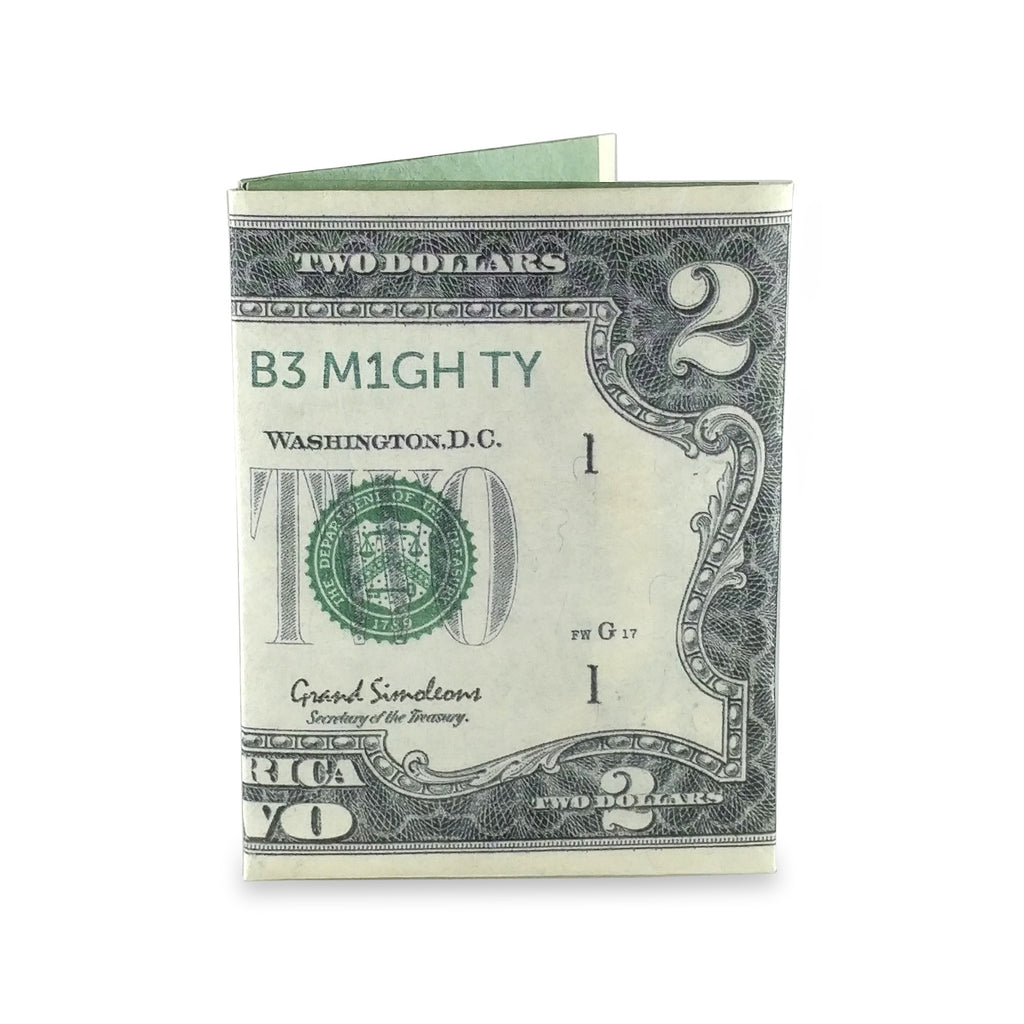 $2 Bill mini Mighty Wallet