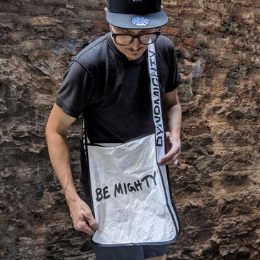 BE MIGHTY Tyvek Tote
