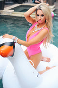Barbie Pink One Piece Bikini