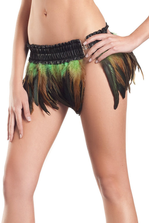 Exotic Feathers Skirt