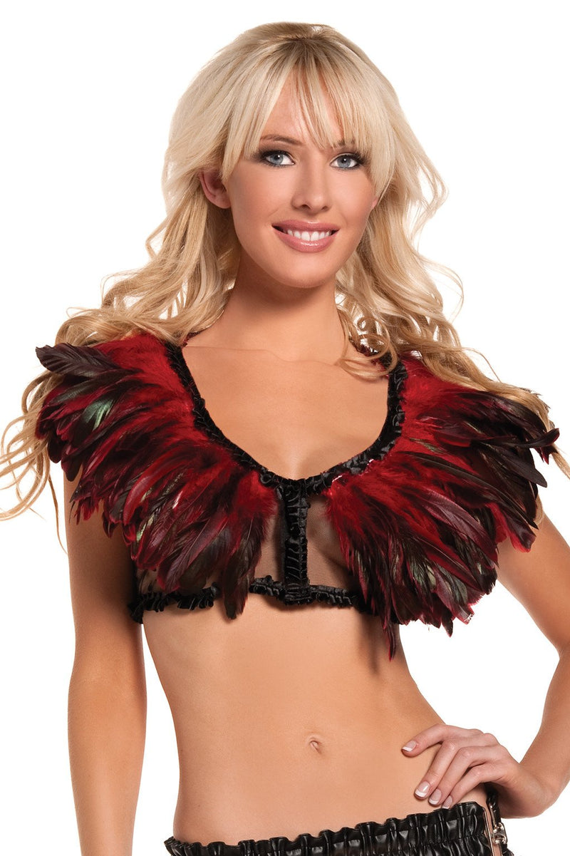 Exotic Feathers Top