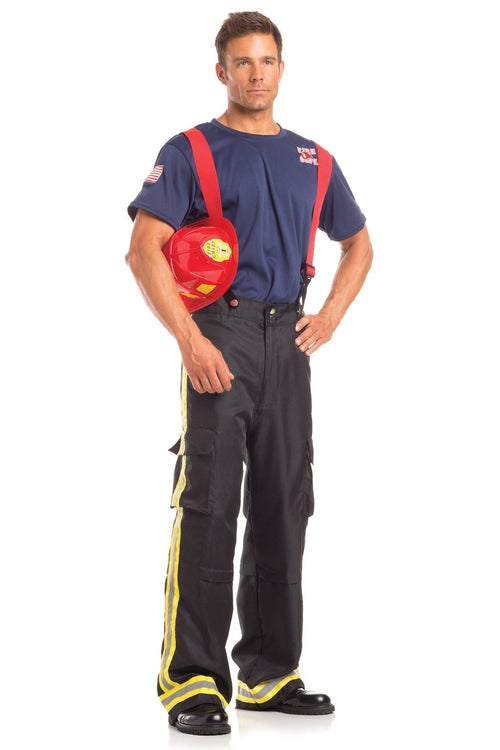 3 Piece Fierce Firefighter Costume