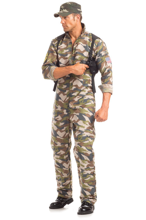 2 Piece Scrumptious Sergeant Major Costume