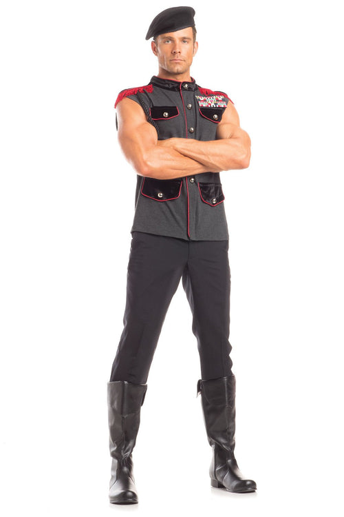 2 Piece Outstanding Officer Costume