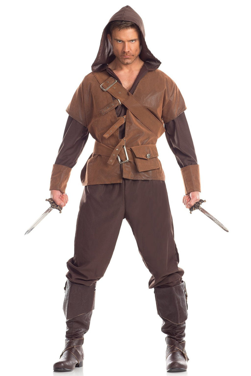 4 Piece Adamant Assassin Costume