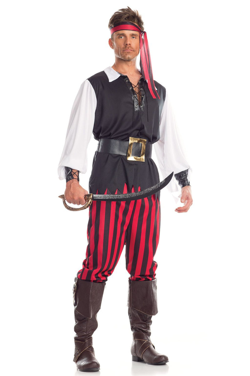 5 Piece Risky Raider Costume