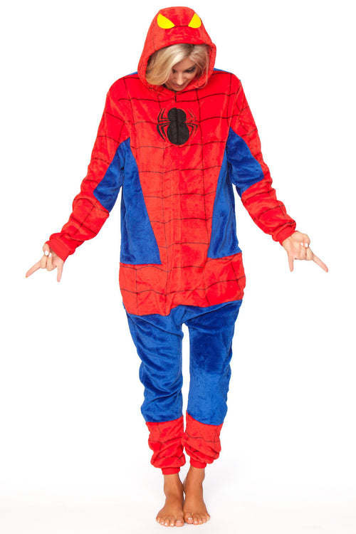 SPIDERMAN Adult Onesie