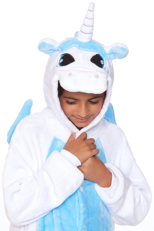 White Unicorn Child Onesie