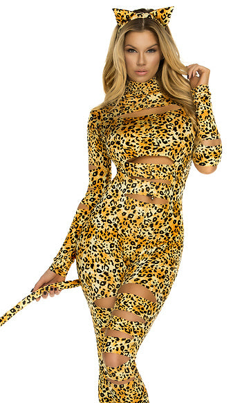 Sinful Kitty Sexy Costume
