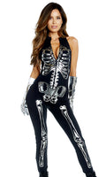Shiny On The Inside Metallic Skeleton Costume