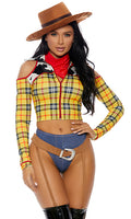 Howdy Partner Playtime Sheriff Movie Character Costume