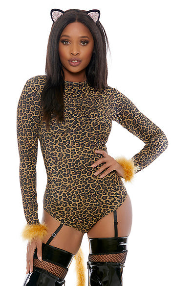 Meow Leopard Kitty Costume