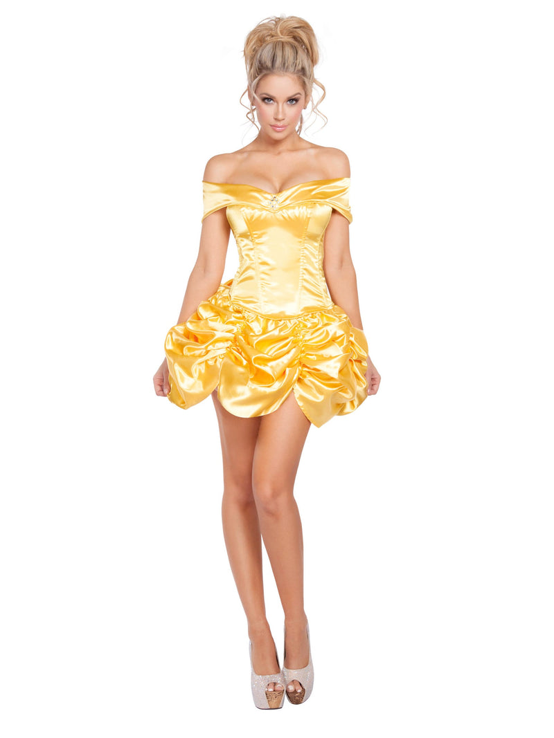 Belle Halloween Costume Beauty And The Beast Yellow Princess Disney Medium 4612